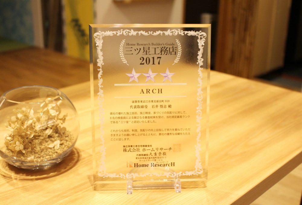 リクシル メンバーズコンテスト2017で敢闘賞