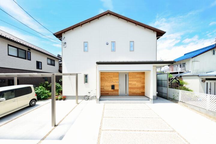 近江八幡市 水保の家