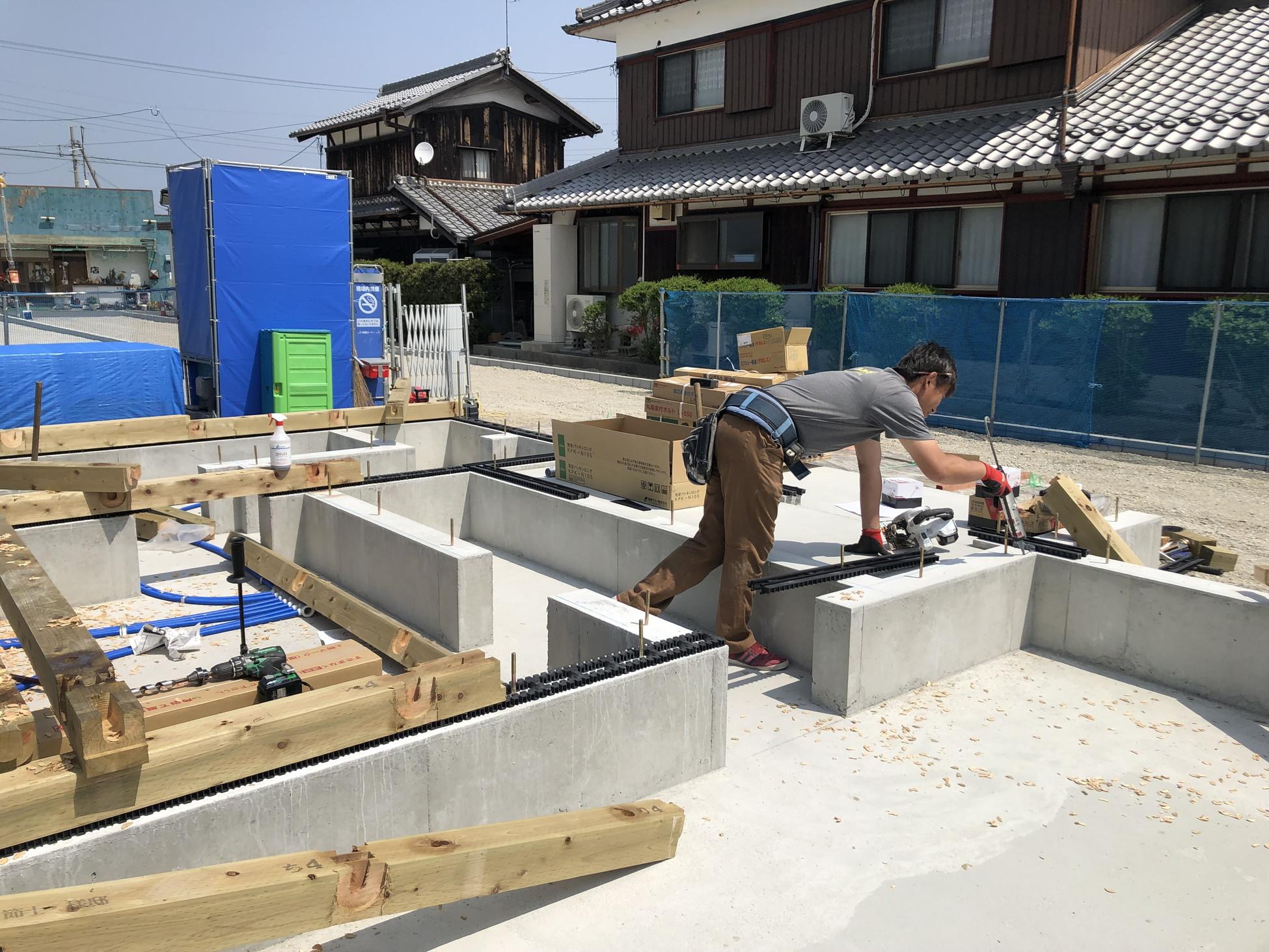 東近江市『佐野の家Ⅲ』施工写真を追加しました。