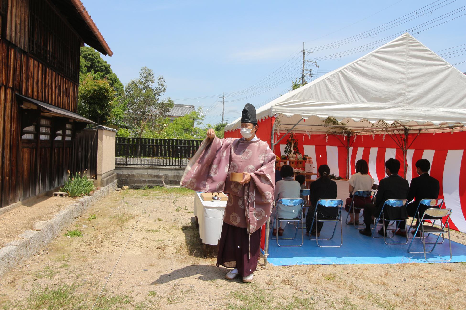 平津の家 | 地鎮祭