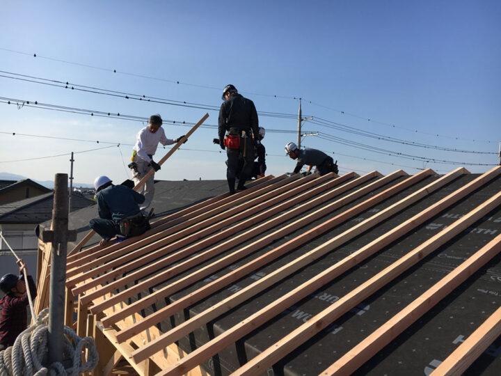 2重垂木屋根
