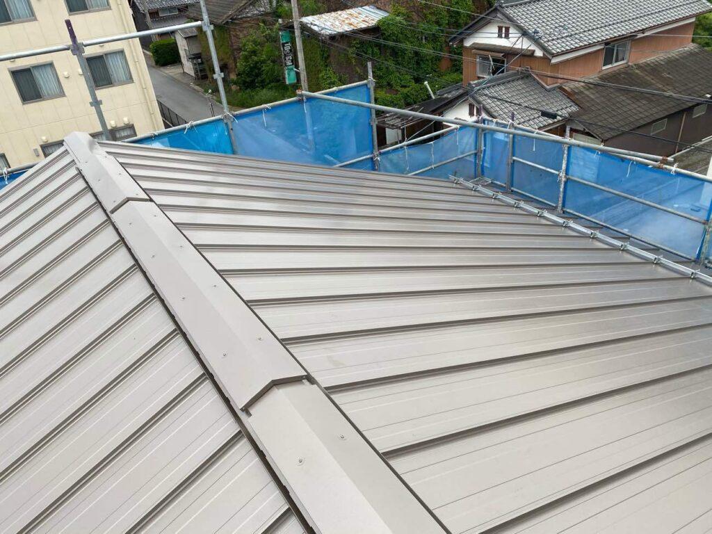 平田の家2|屋根が完成しました