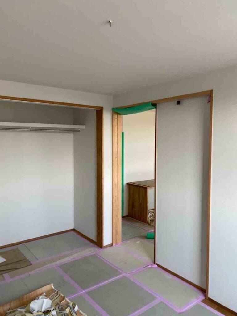 平田の家2|外壁の下準備が完成