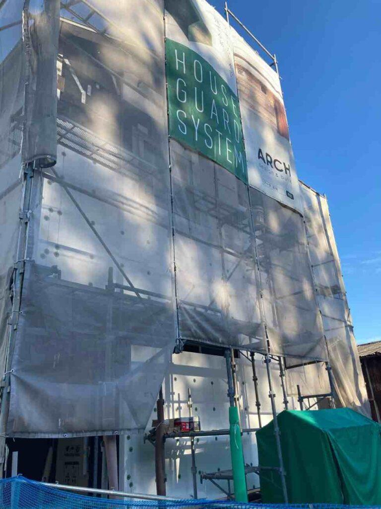 金剛寺の家|壁紙施工